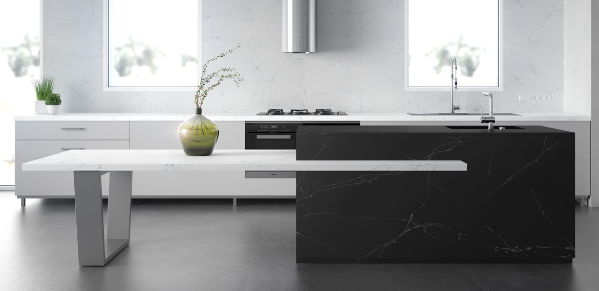 COMPAC, COMPACSURFACES, COMPAC THE SURFACE COMPANY, UNIQUE COLLECTION, VENATINO, MARQUINA