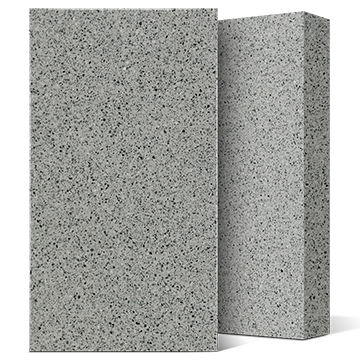 COMPAC, COMPACSURFACES, COMPAC THE SURFACE COMPANY, PETRA, GREY TERRAZZO