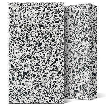 COMPAC, COMPACSURFACES, COMPAC THE SURFACE COMPANY, PETRA, WHITE BLACK CHIP