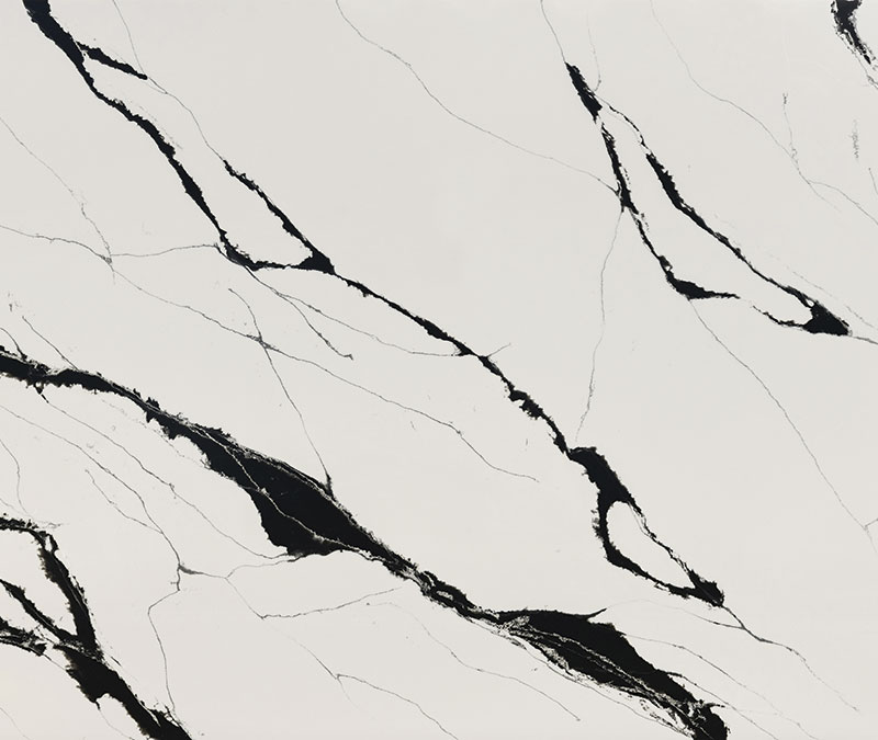COMPAC, COMPACSURFACES, COMPAC THE SURFACE COMPANY, UNIQUE COLLECTION, calacatta black